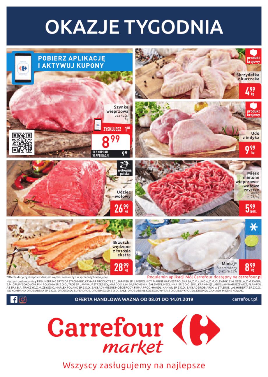 Carrefour Market, gazetka do 19.01.2019