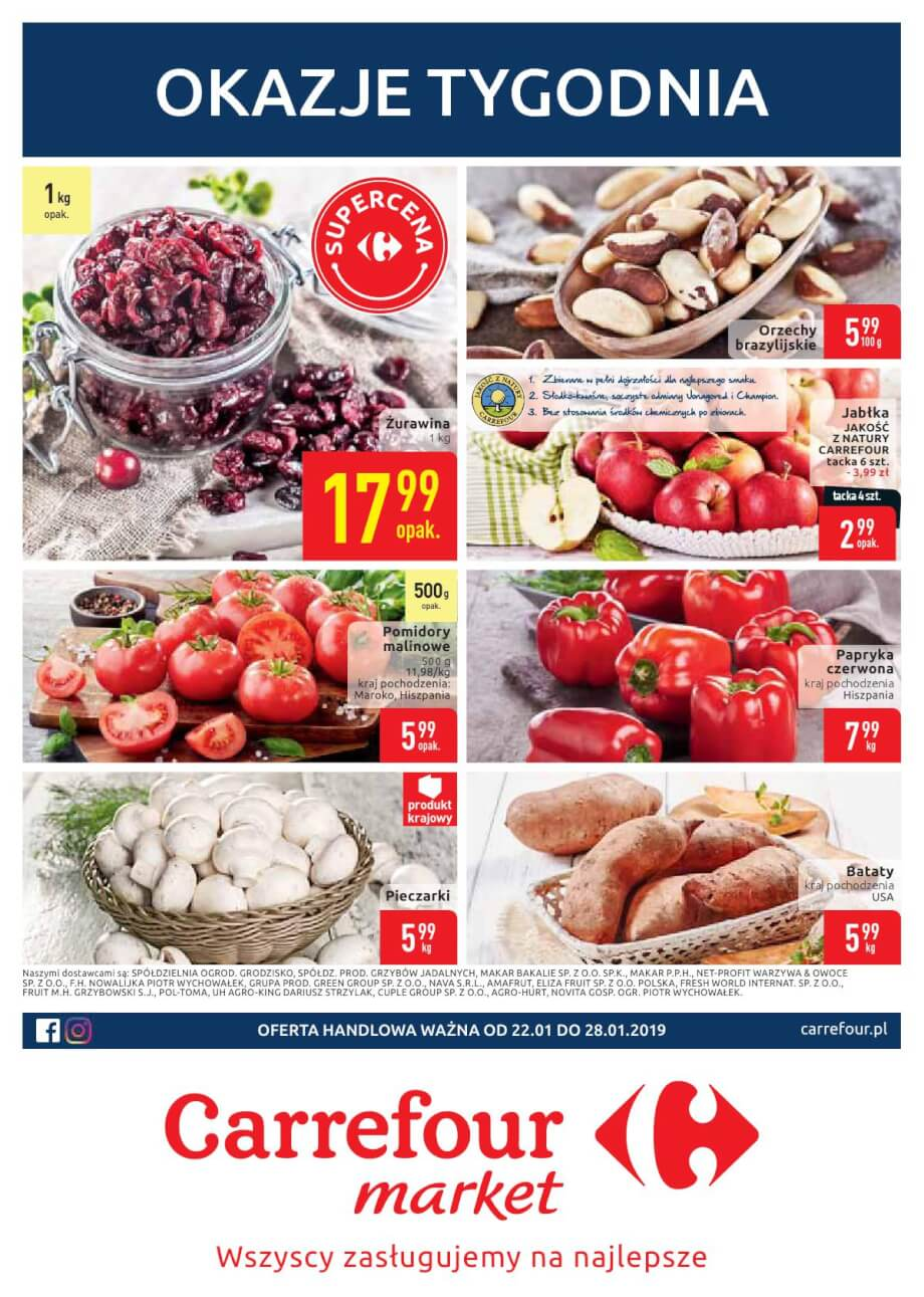 Carrefour Market, gazetka do 28.01.2019