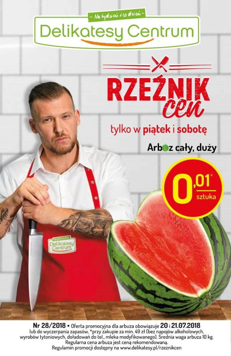 Delikatesy Centrum, gazetka do 25.07.2018