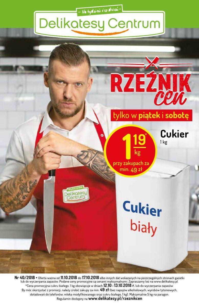 Delikatesy Centrum, gazetka do 17.10.2018