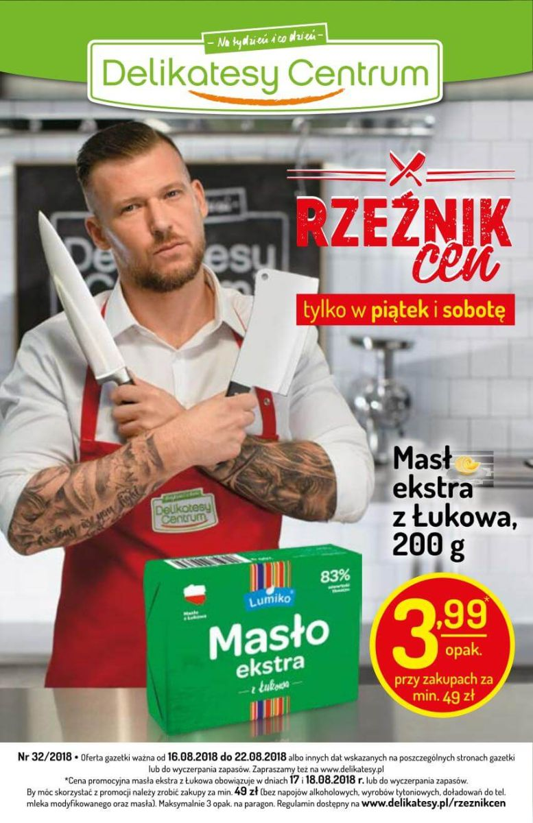 Delikatesy Centrum, gazetka do 22-08-2018