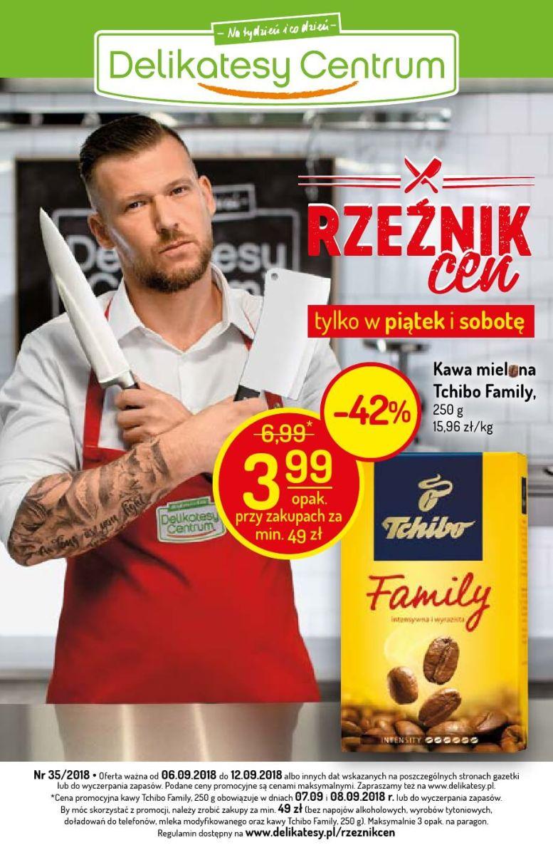 Delikatesy Centrum, gazetka do 12.09.2018