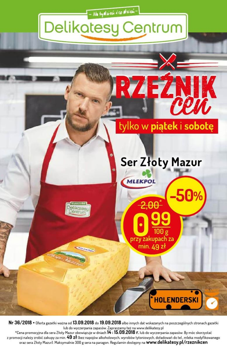 Delikatesy Centrum, gazetka do 19.09.2018
