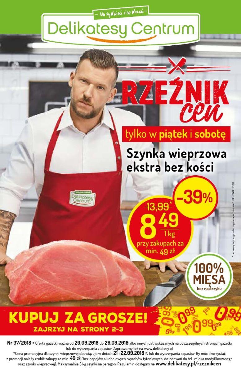 Delikatesy Centrum, gazetka do 26.09.2018