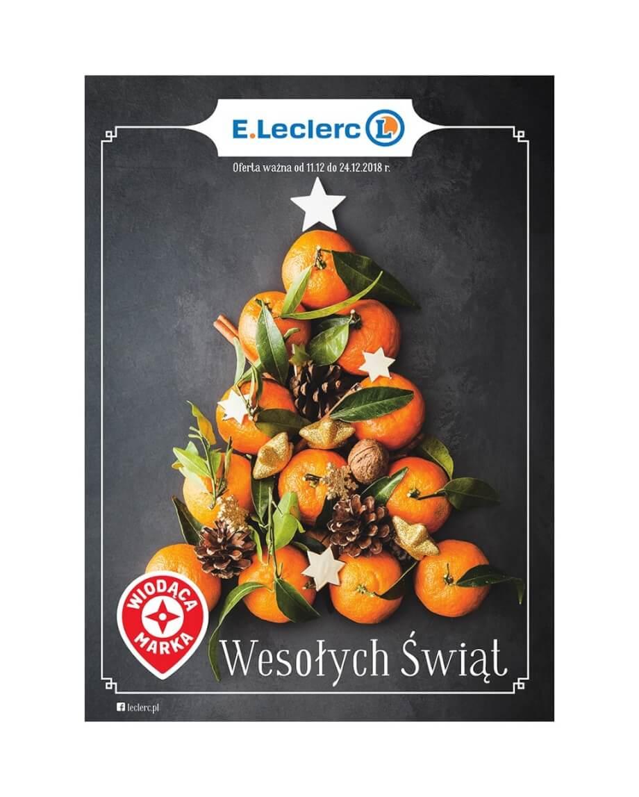 E.Leclerc, gazetka do 24.12.2018