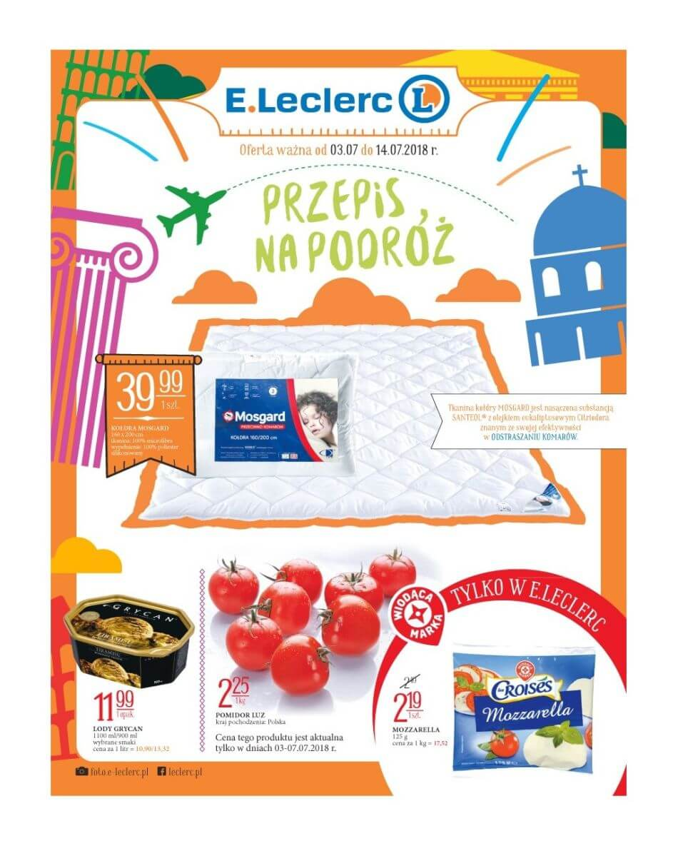 E.Leclerc, gazetka do 14.07.2018