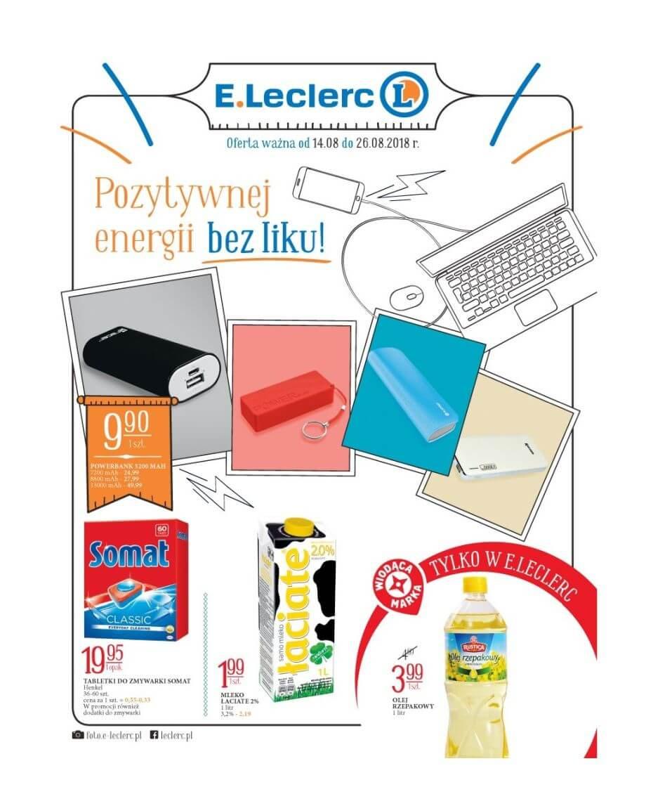 E.Leclerc, gazetka do 26.08.2018