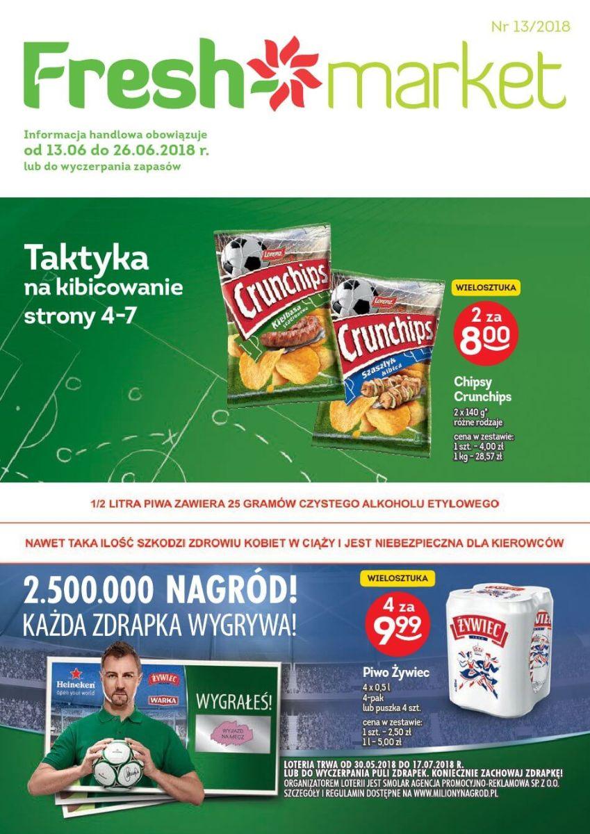 Freshmarket, gazetka do 26.06.2018