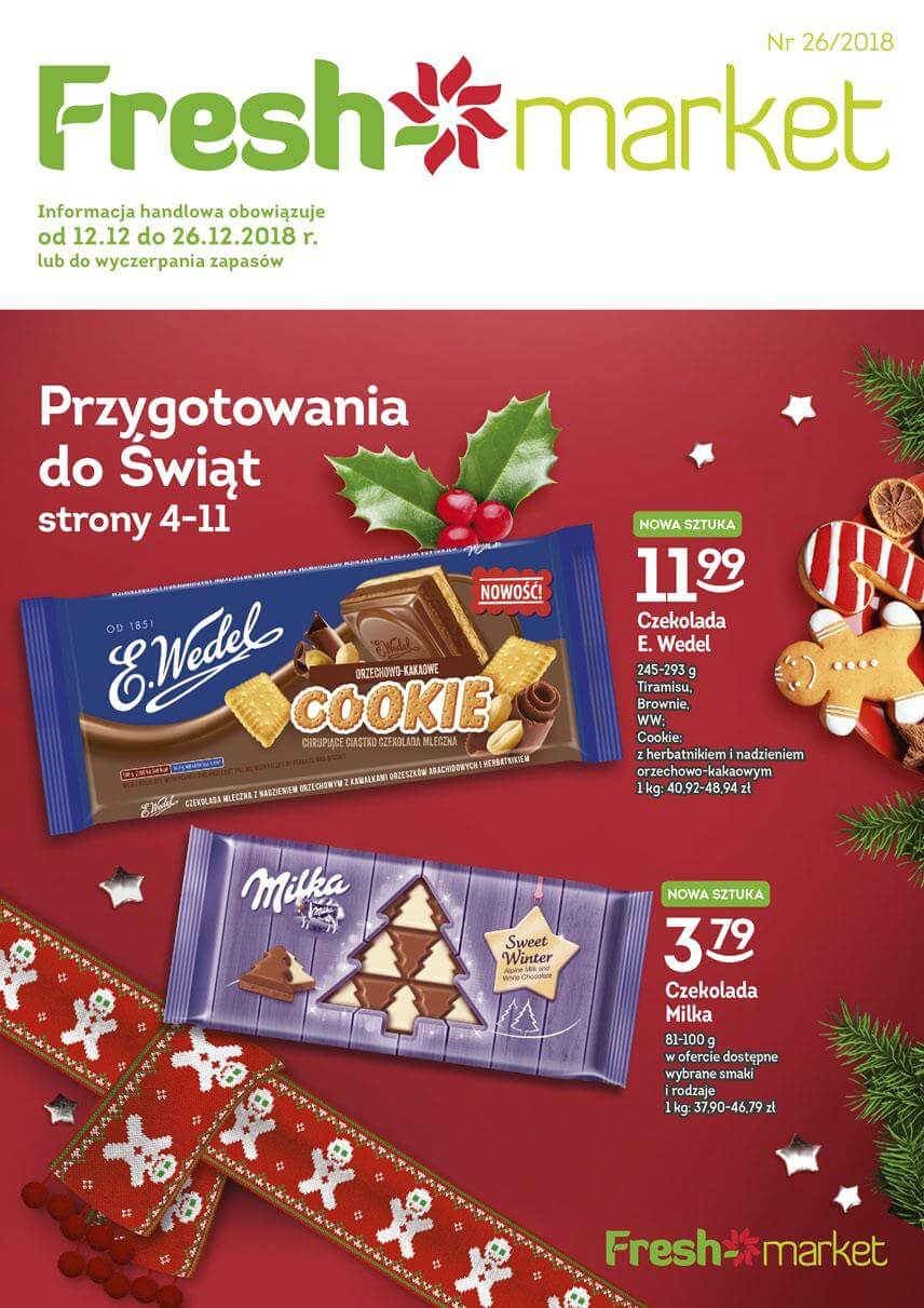 Freshmarket, gazetka do 26.12.2018