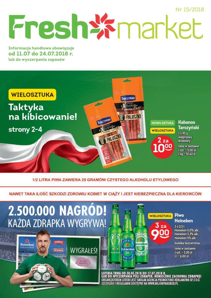 Freshmarket, gazetka do 24.07.2018