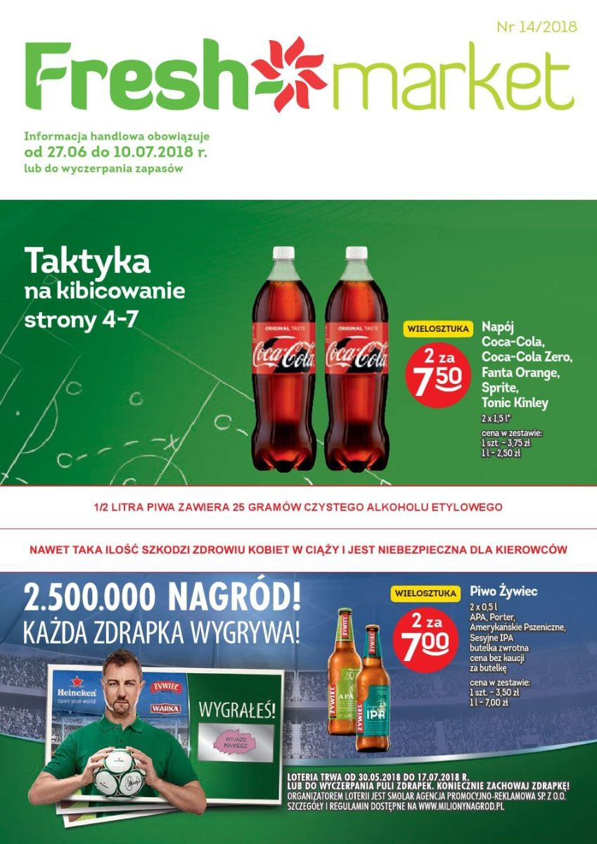 Freshmarket, gazetka do 10.07.2018