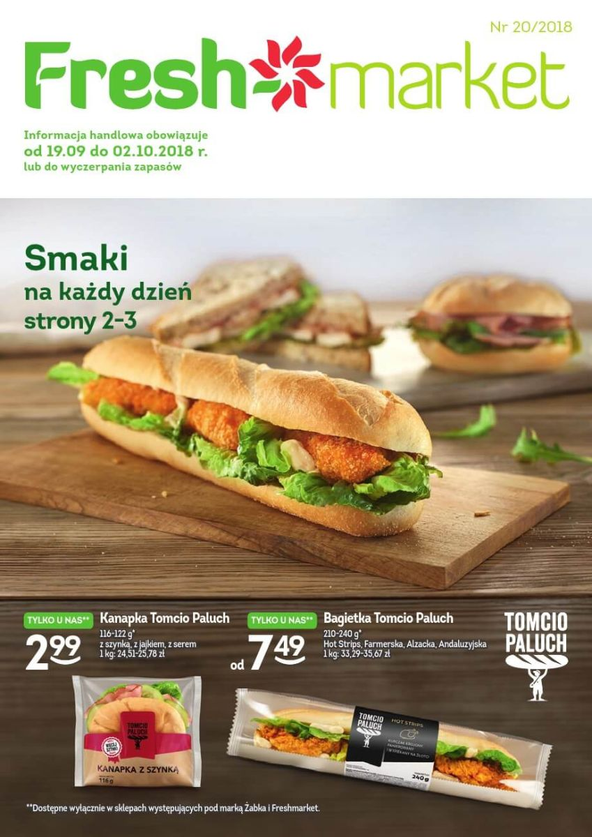 Freshmarket, gazetka do 02.10.2018