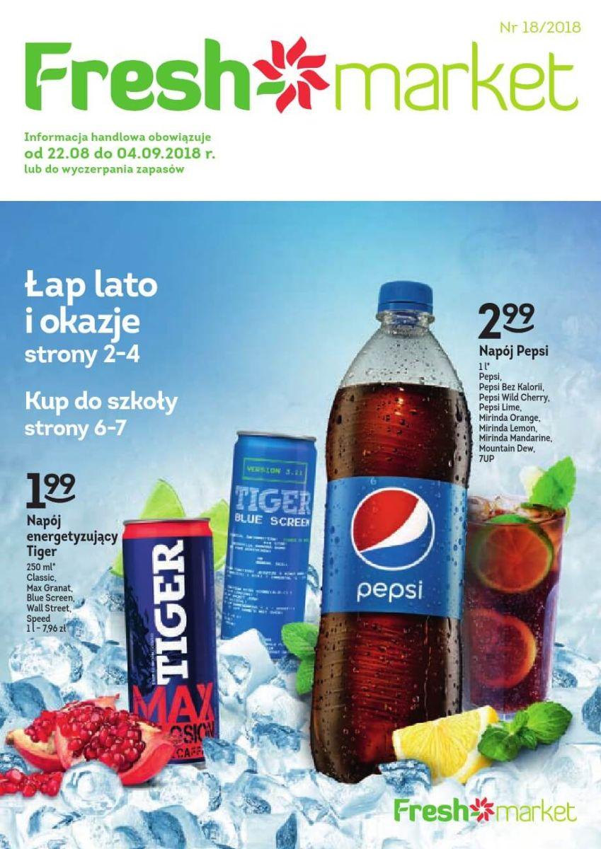 Freshmarket, gazetka do 04.09.2018