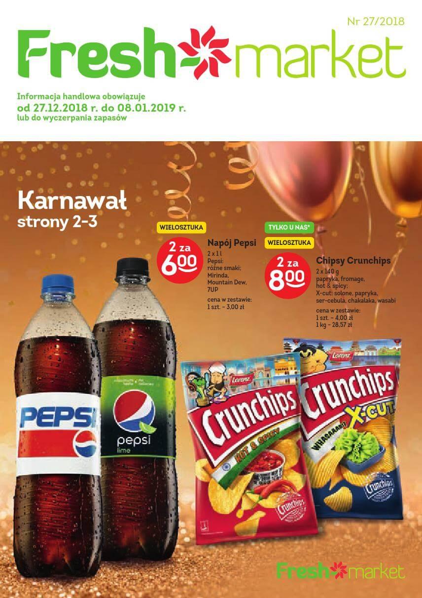 Freshmarket, gazetka do 08.01.2018