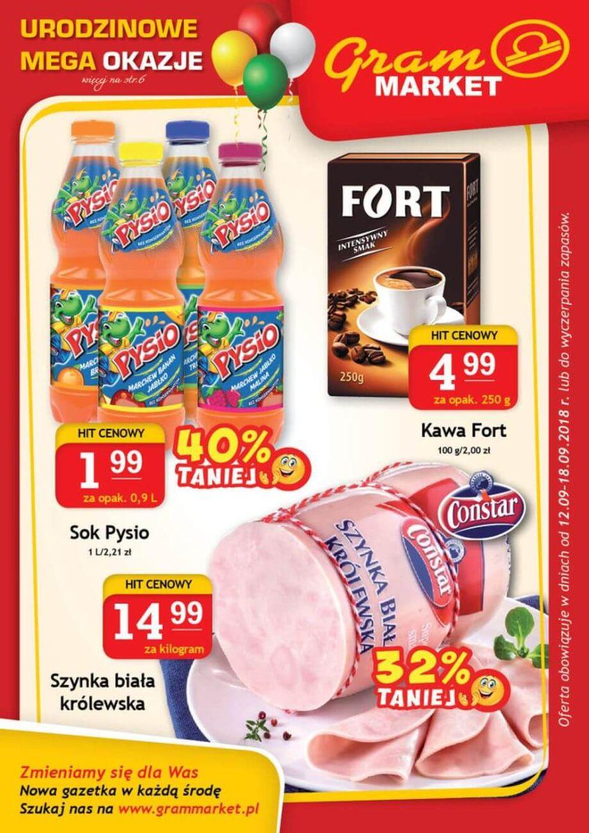 Gram Market, gazetka do 18.09.2018