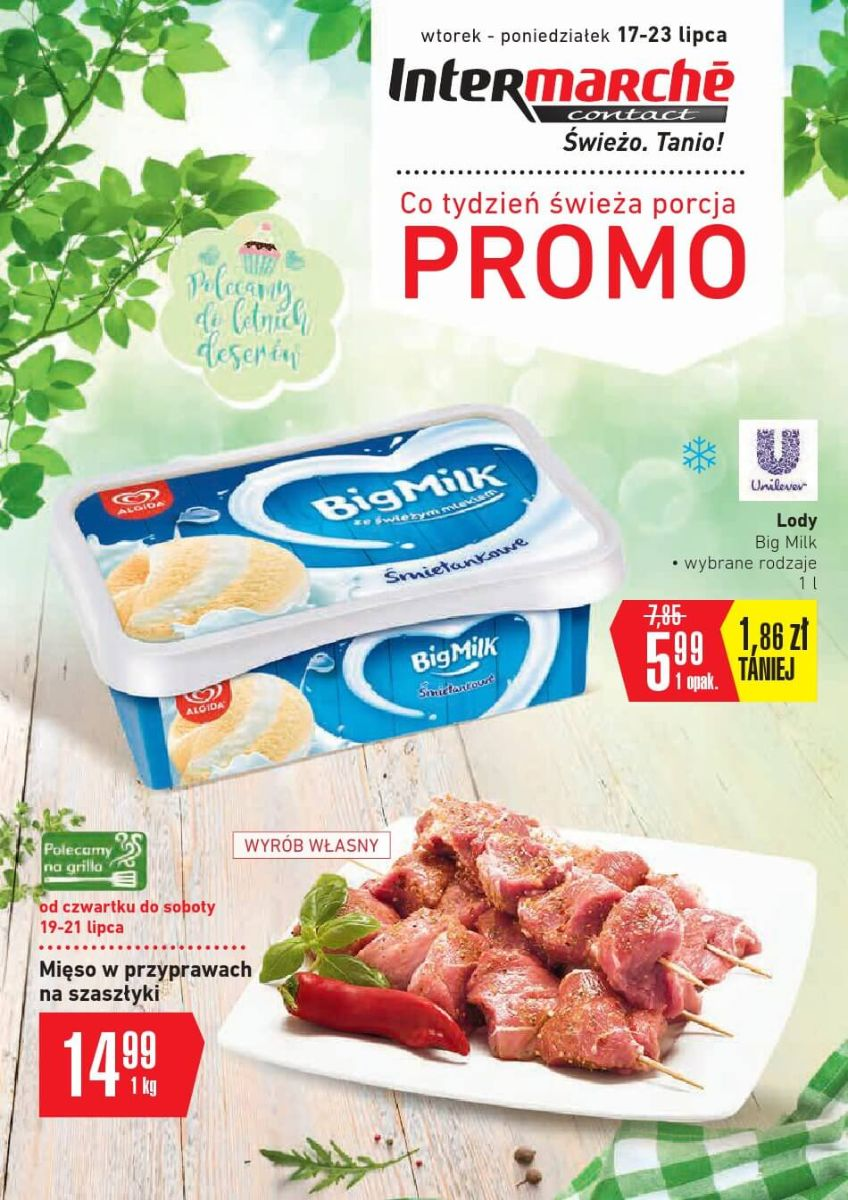 Intermarche, gazetka do 23.07.2018