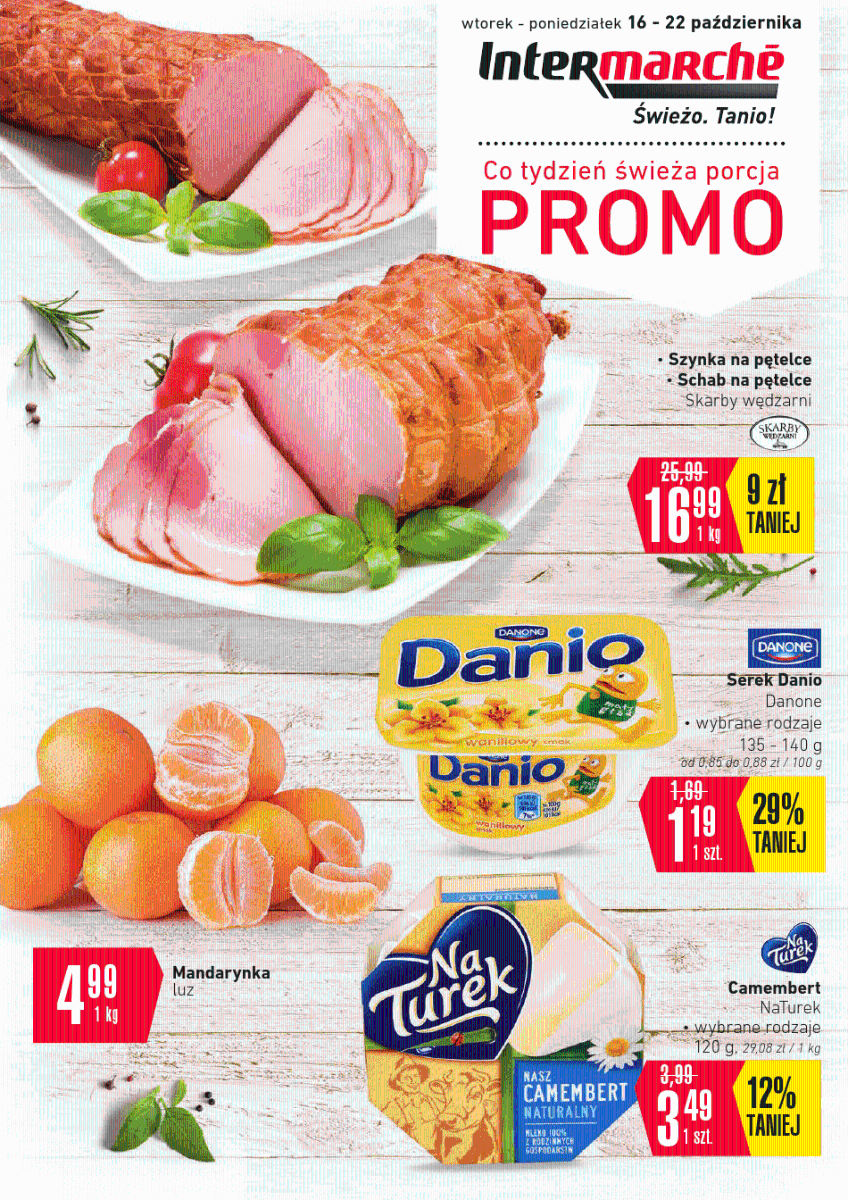 Intermarche, gazetka do 22.10.2018