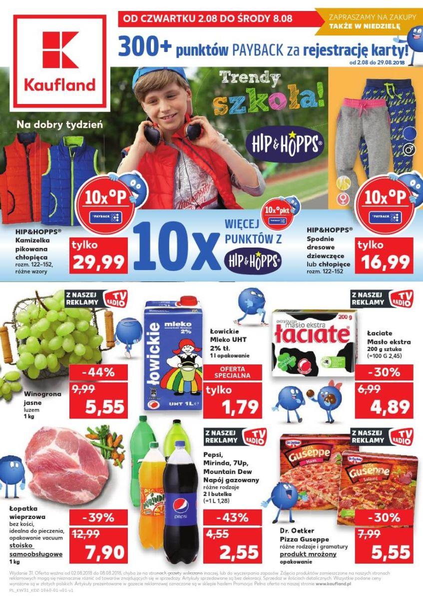 Kaufland, gazetka do 08.08.2018
