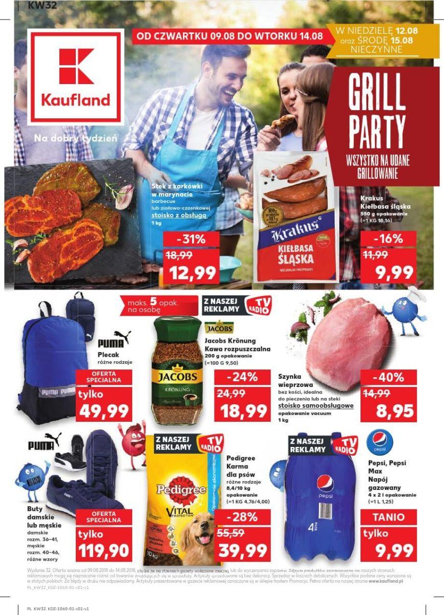 Kaufland, gazetka do 14.08.2018