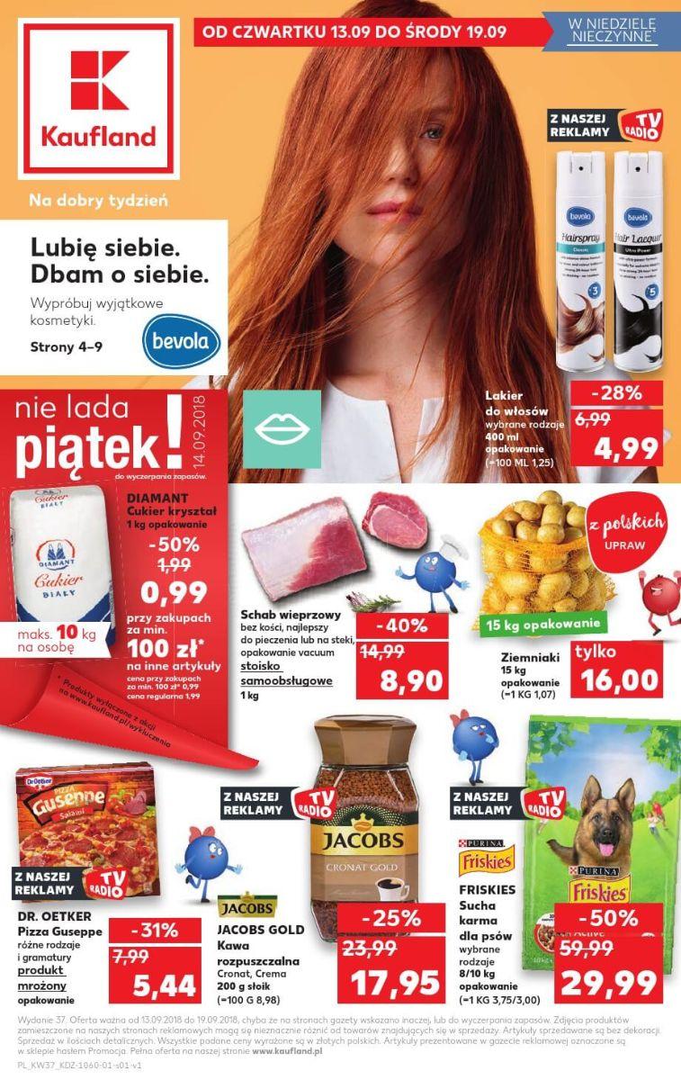 Kaufland, gazetka do 19.09.2018