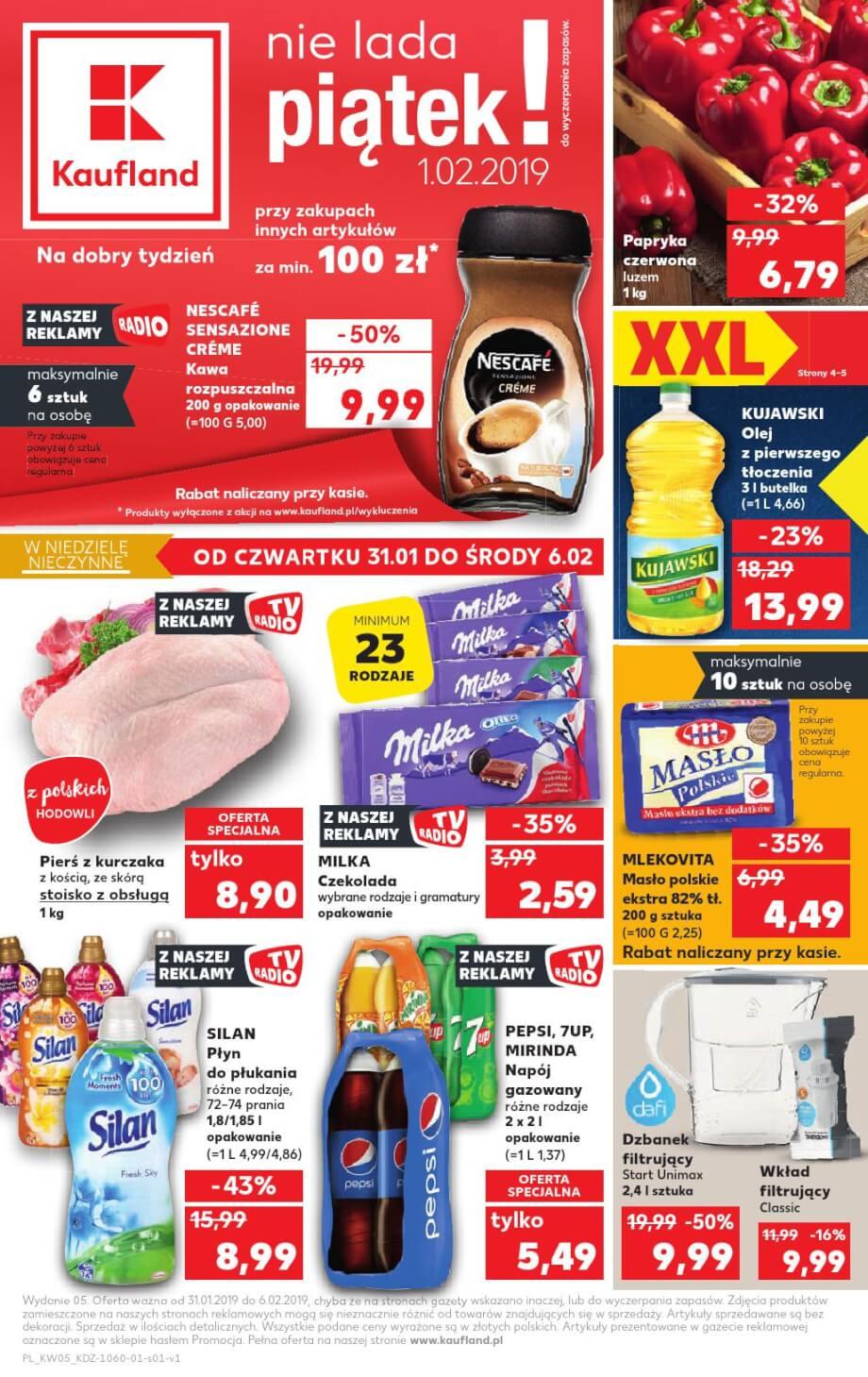 Kaufland, gazetka do 06.02.2019