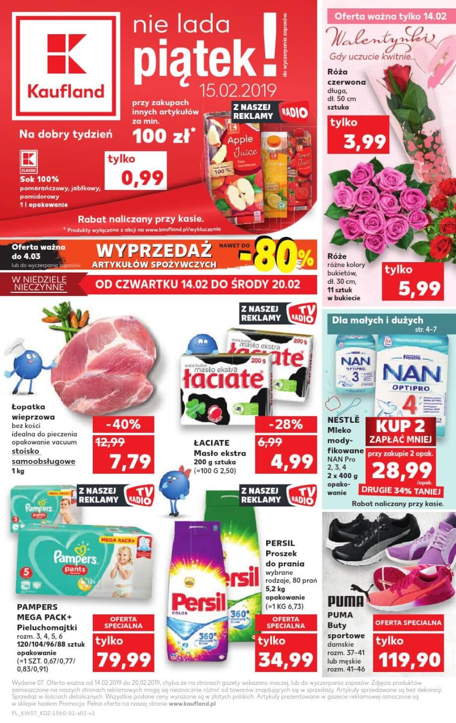 Kaufland, gazetka do 20.02.2019