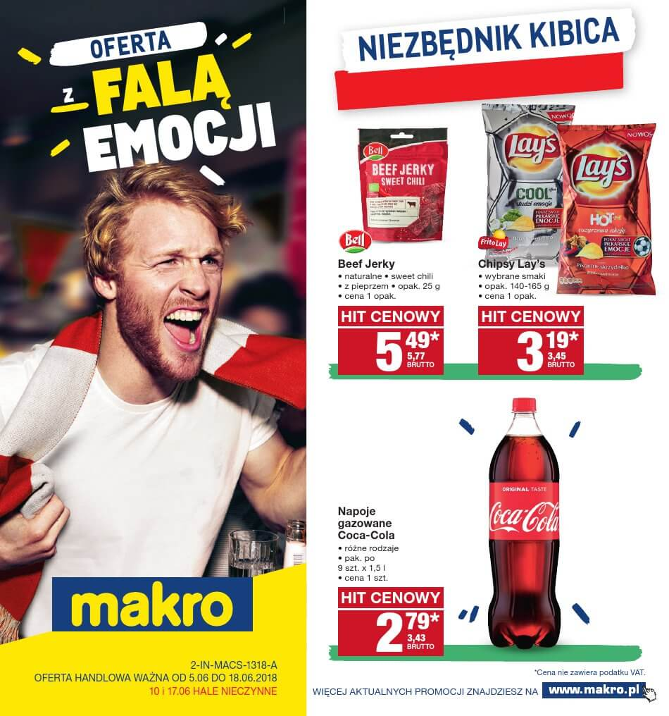 Makro Cash, gazetka do 18.06.2018