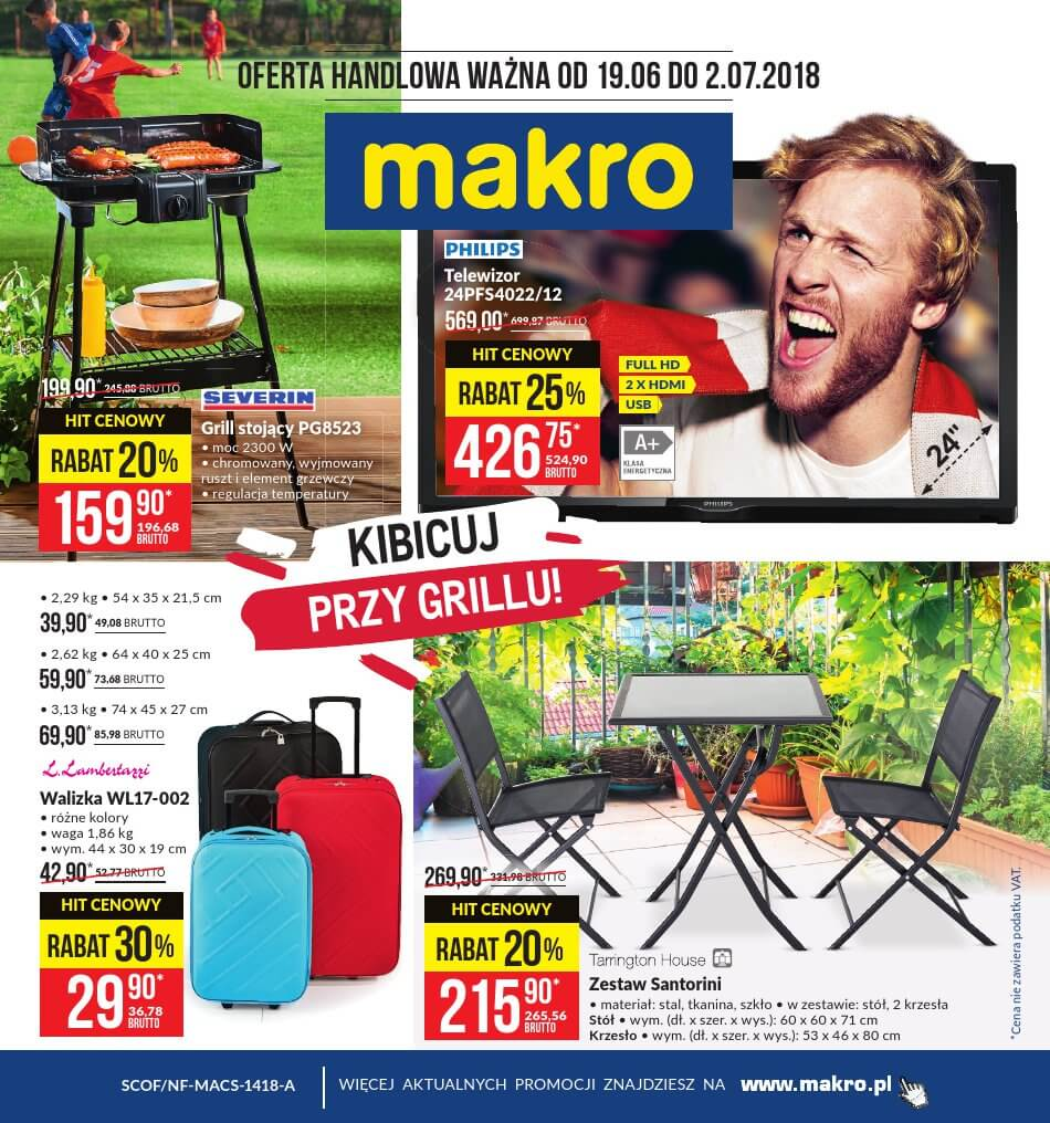 Makro, gazetka do 02.07.2018