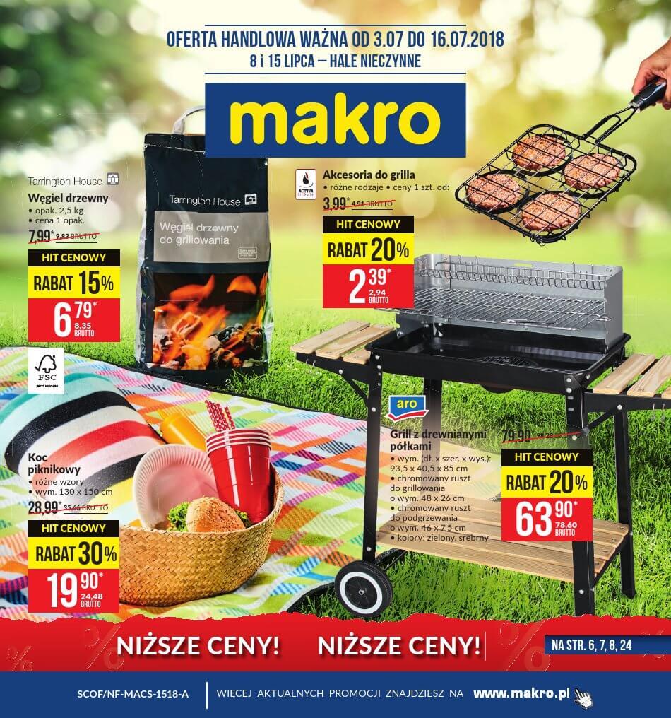 Makro Cash, gazetka do 16.07.2018