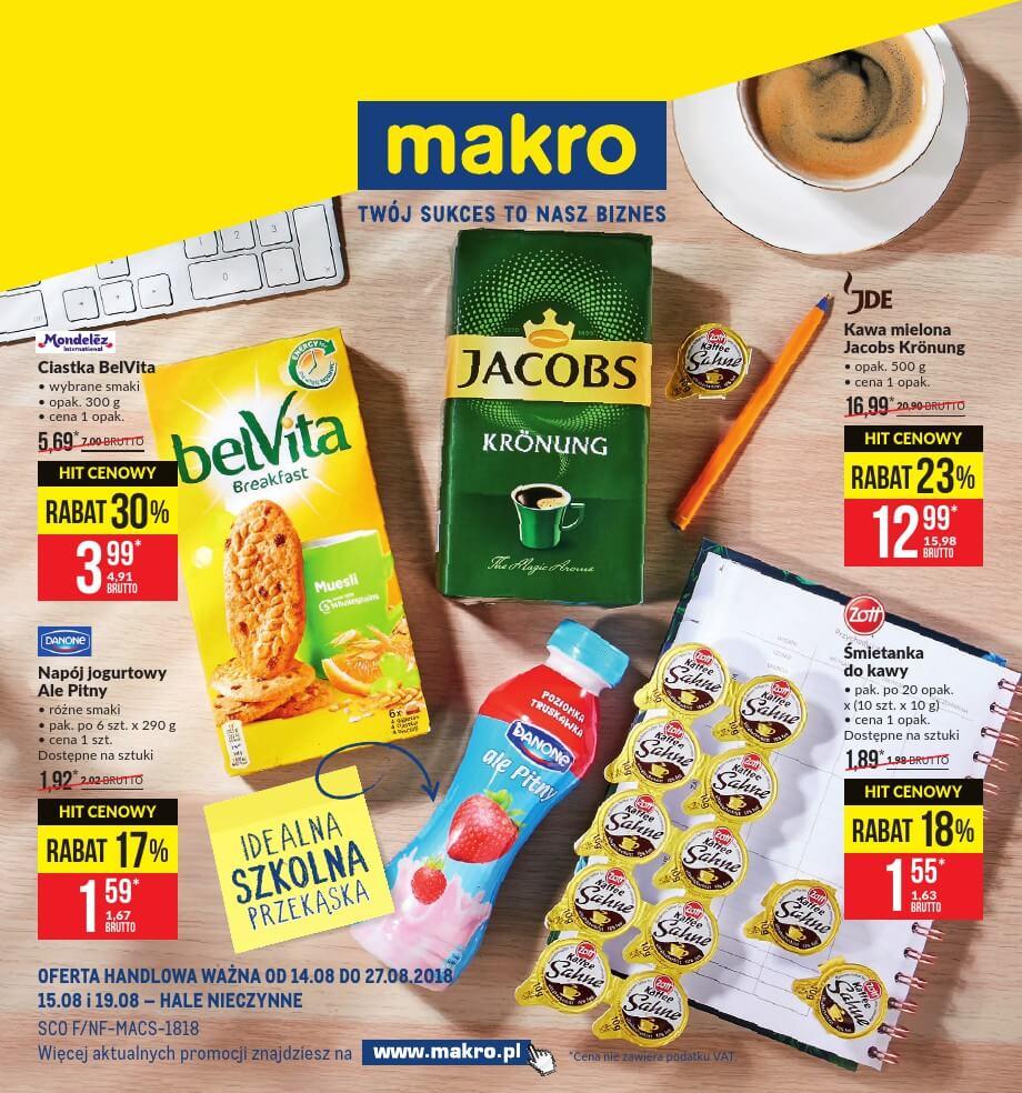 Makro Cash, gazetka do 27.08.2018