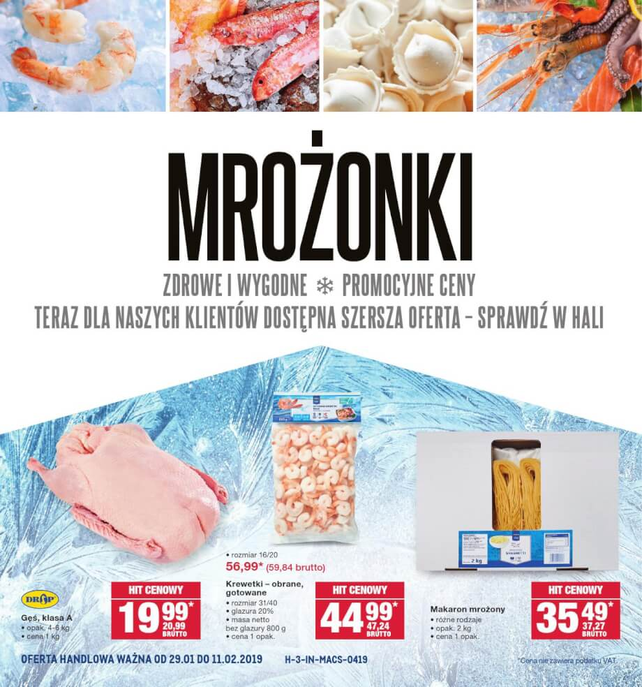 Makro, gazetka do 11.02.2019