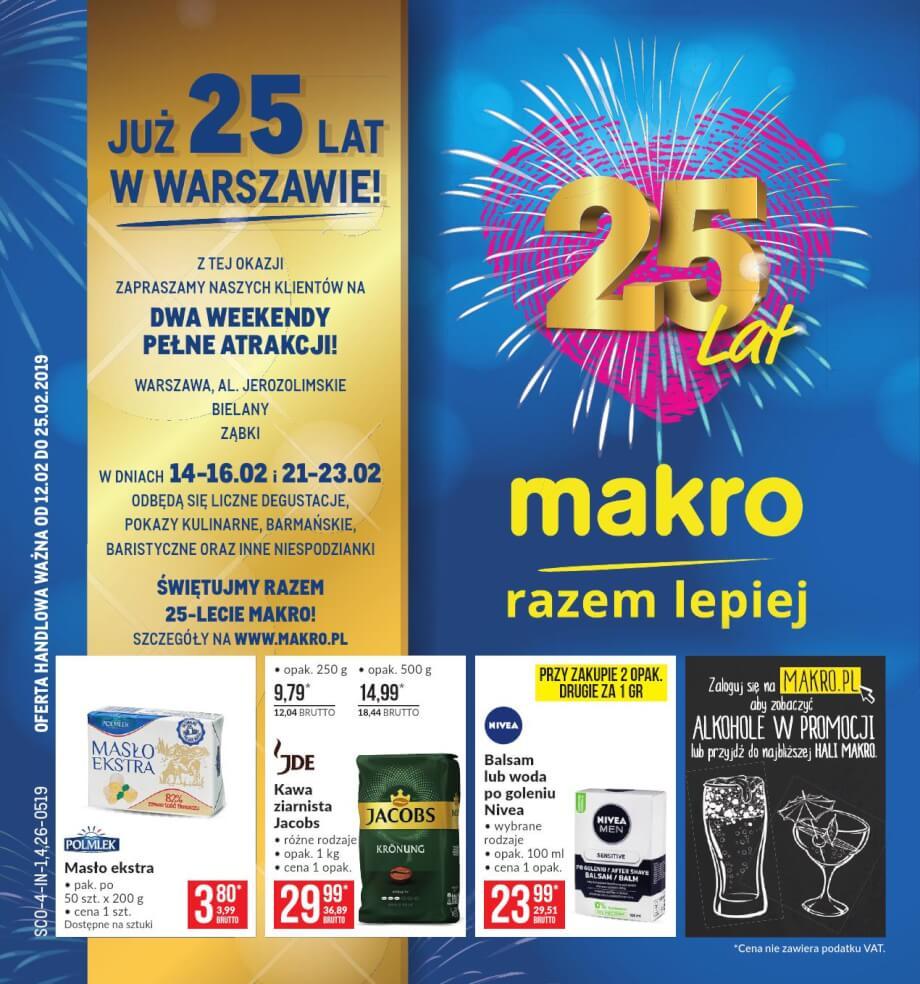 Makro, gazetka do 25.02.2019