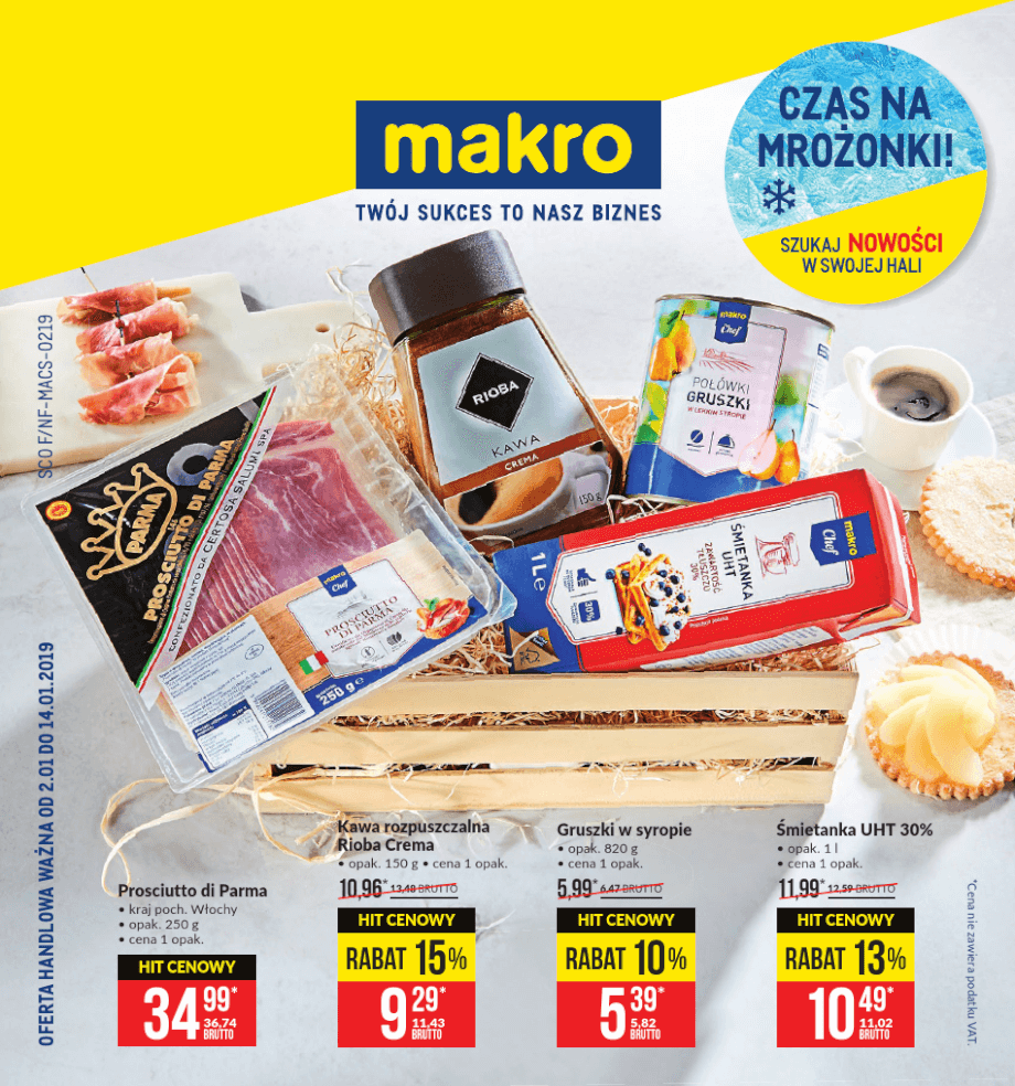Makro, gazetka do 14.01.2019