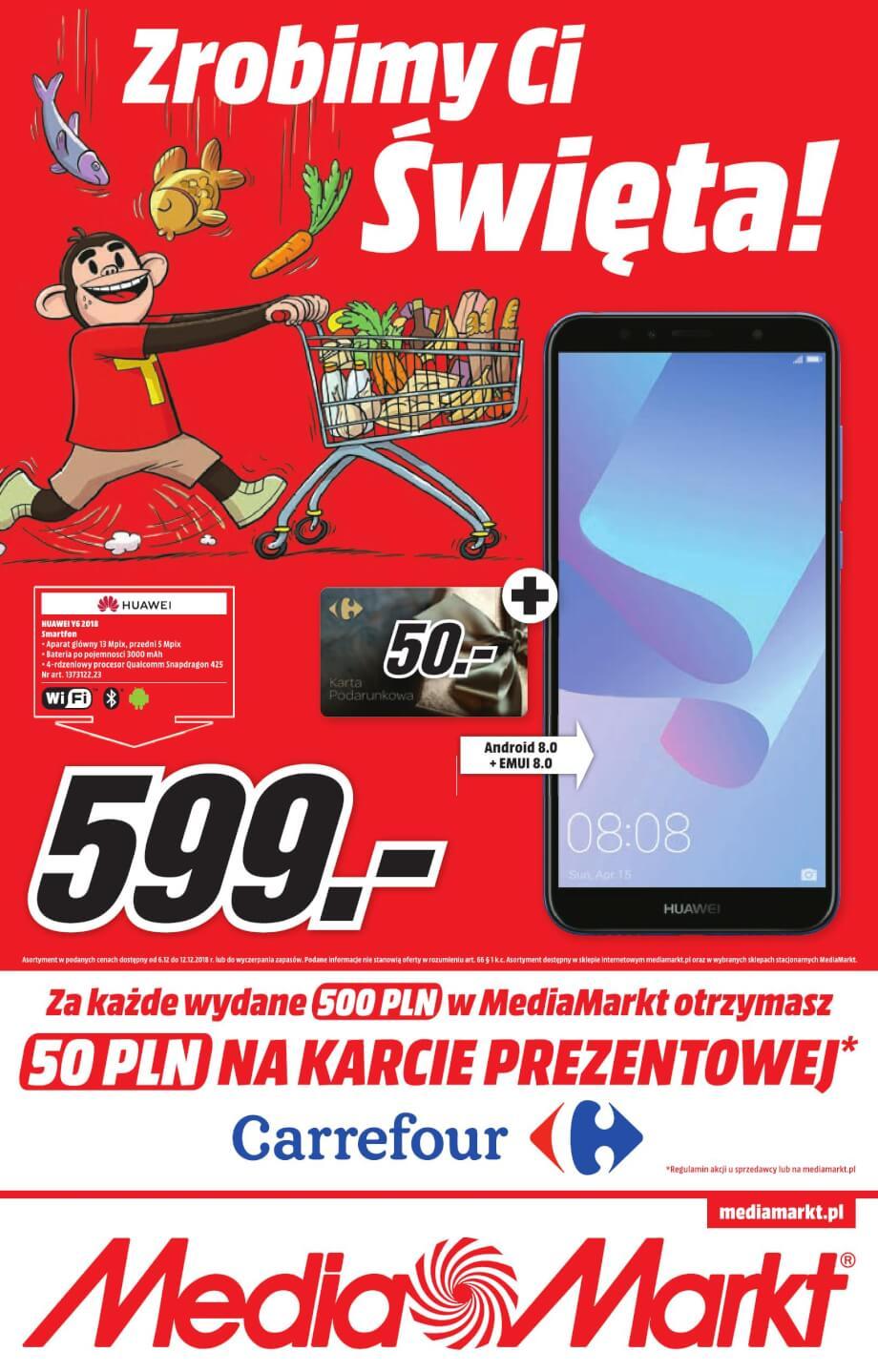 Media Markt, gazetka do 12.12.2018
