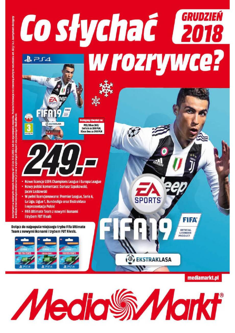 Media Markt, gazetka do 31.12.2018