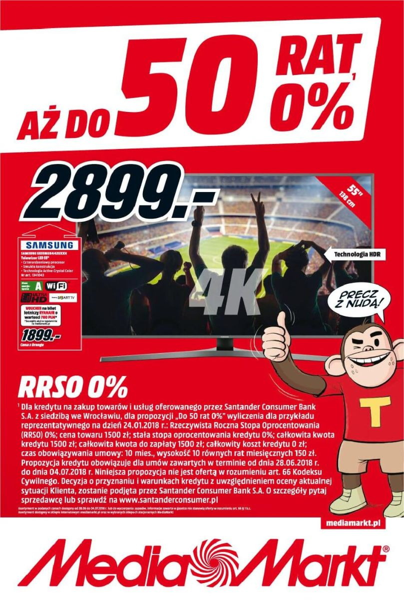 Media Markt, gazetka do 04.07.2018