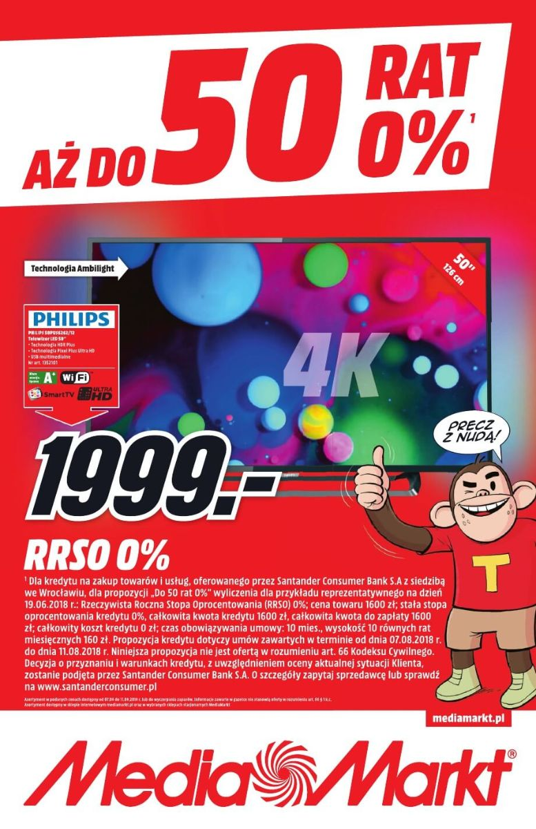 Media Markt, gazetka do 11.08.2018