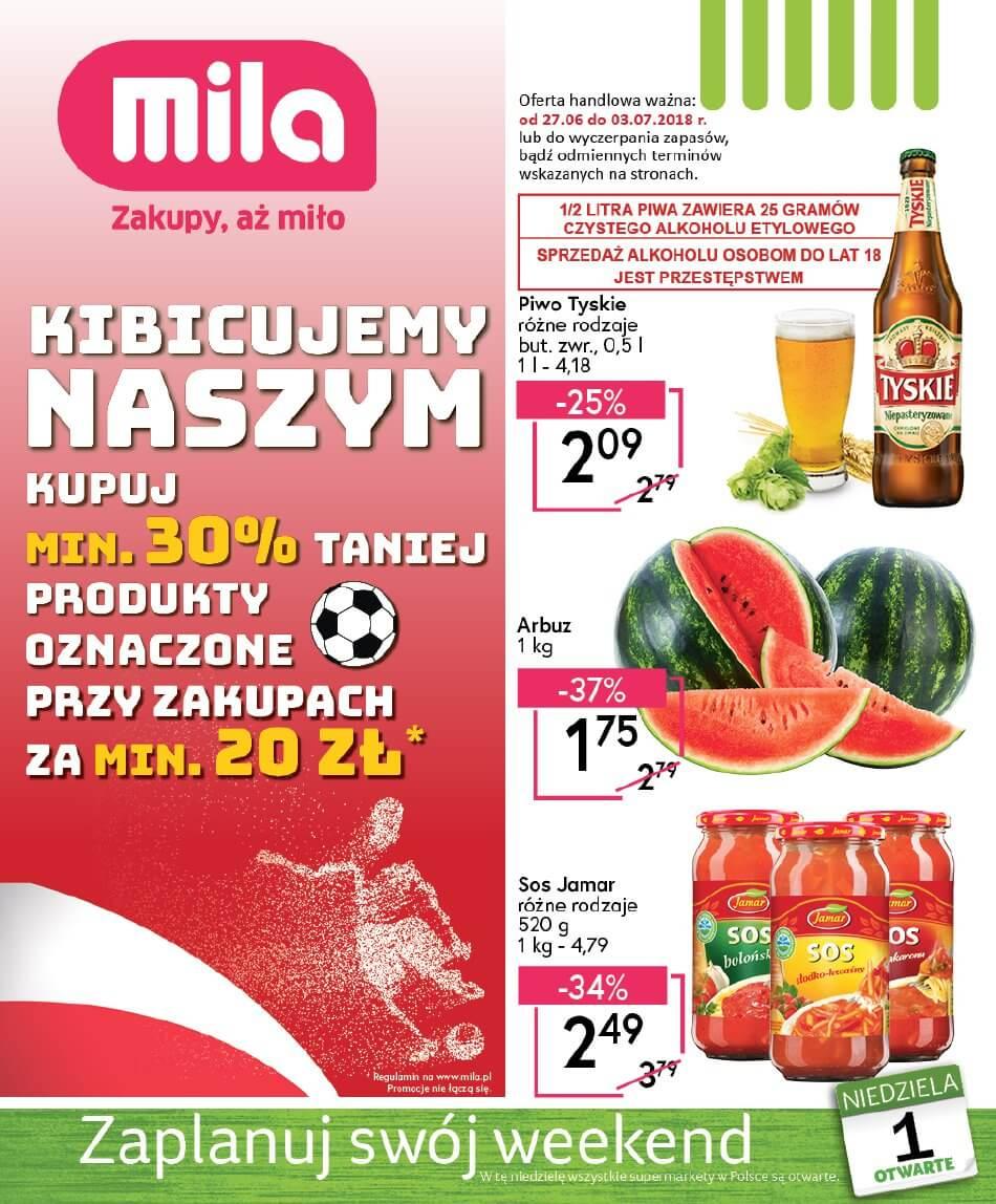 Mila, gazetka do 04.07.2018
