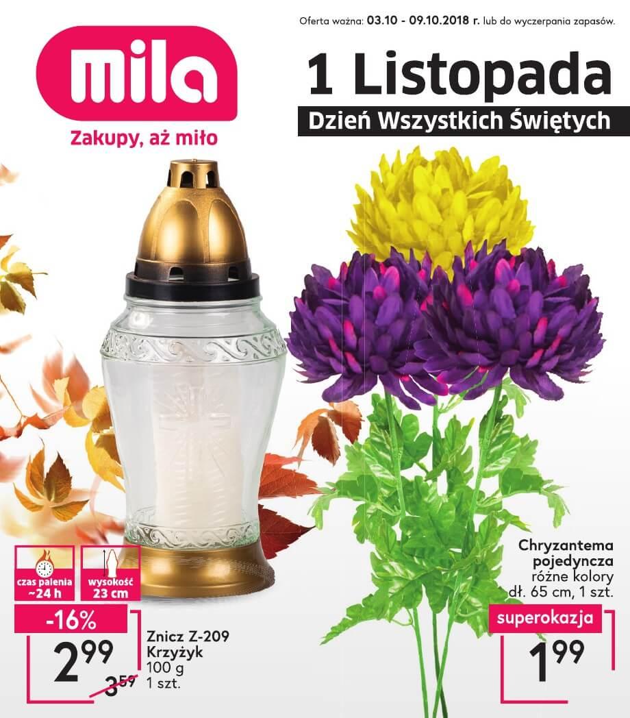 Mila, gazetka do 09.10.2018
