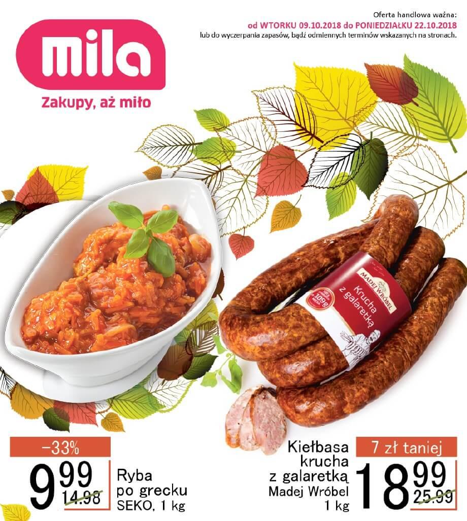 Mila, gazetka do 22.10.2018