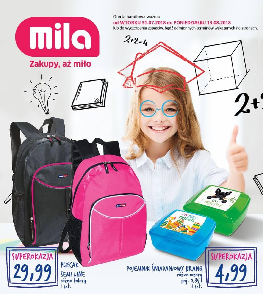 Mila, gazetka do 13.08.2018