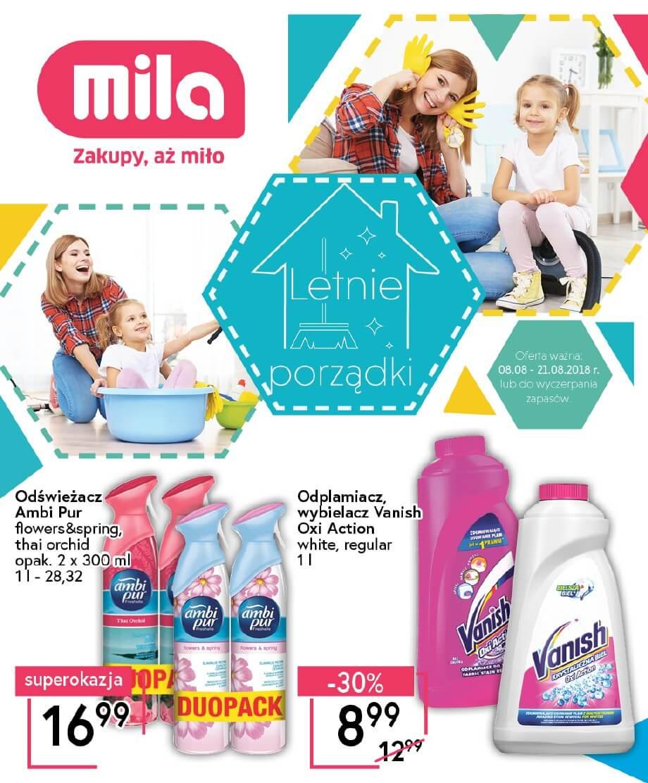 Mila, gazetka do 21.08.2018