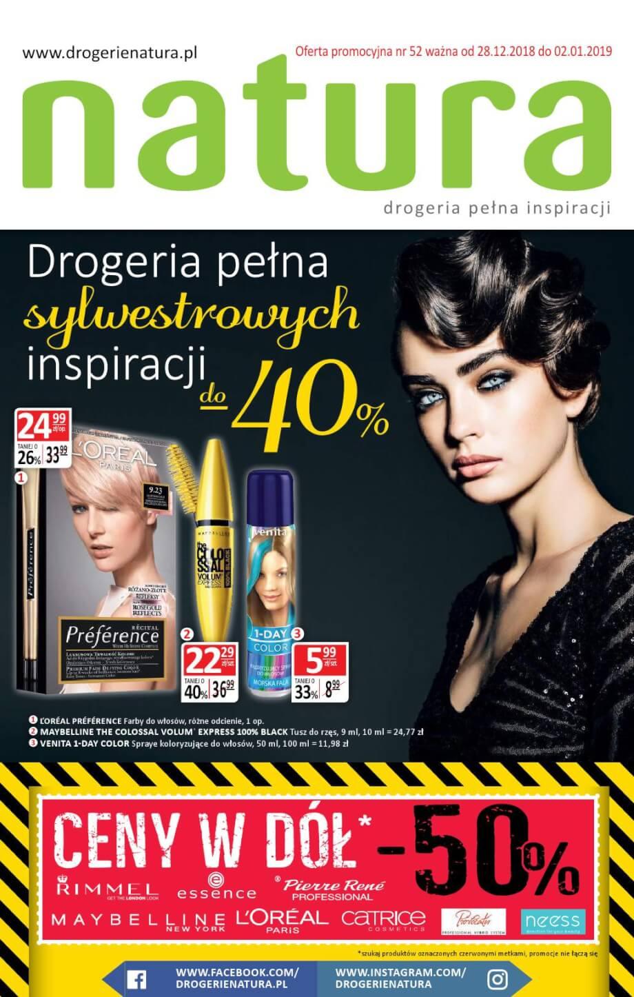 Drogerie Natura, gazetka do 02.01.2019