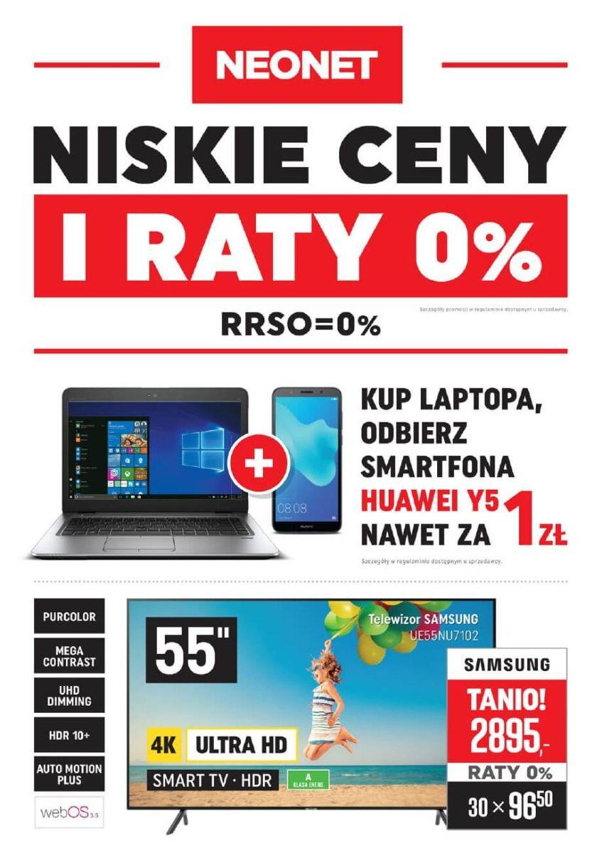 Neonet, gazetka do 05.09.2018
