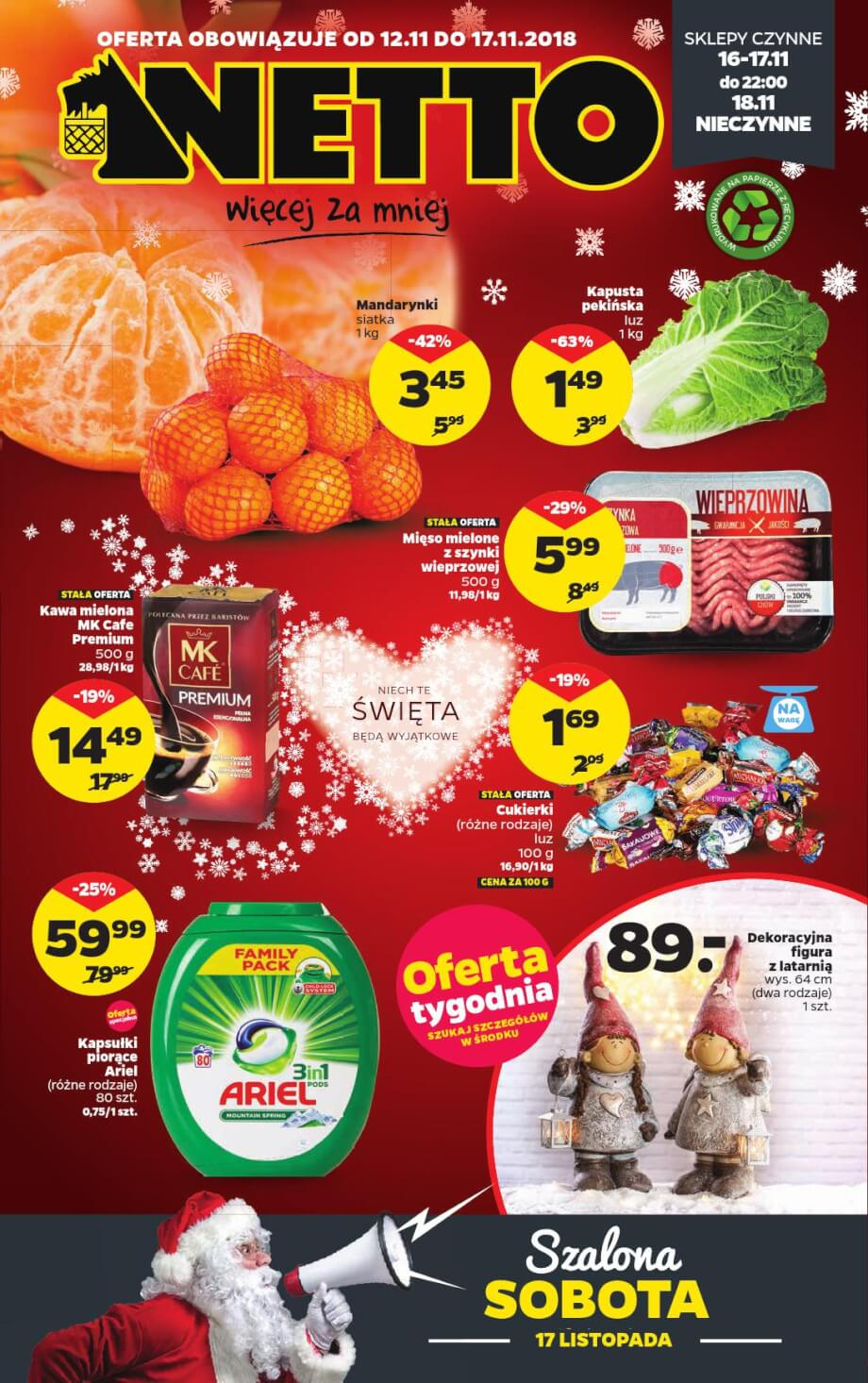 Netto, gazetka do 17.11.2018