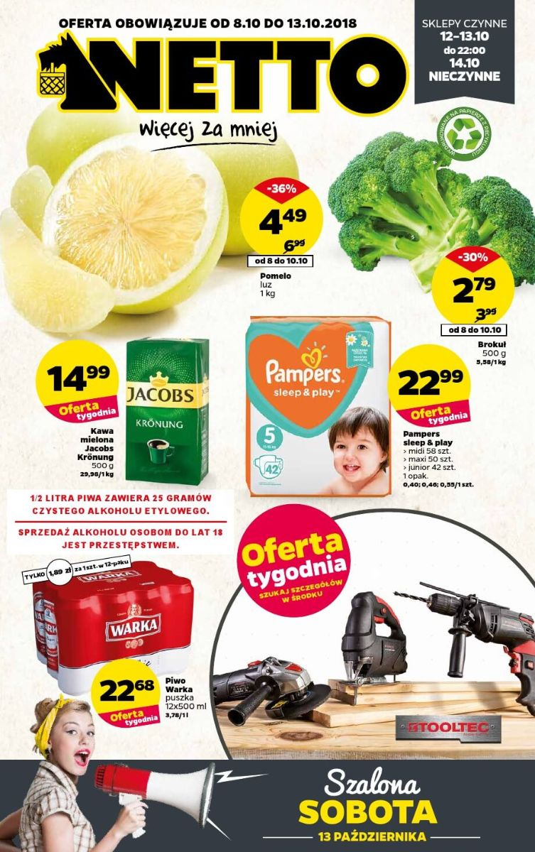 Netto, gazetka do 13.10.2018