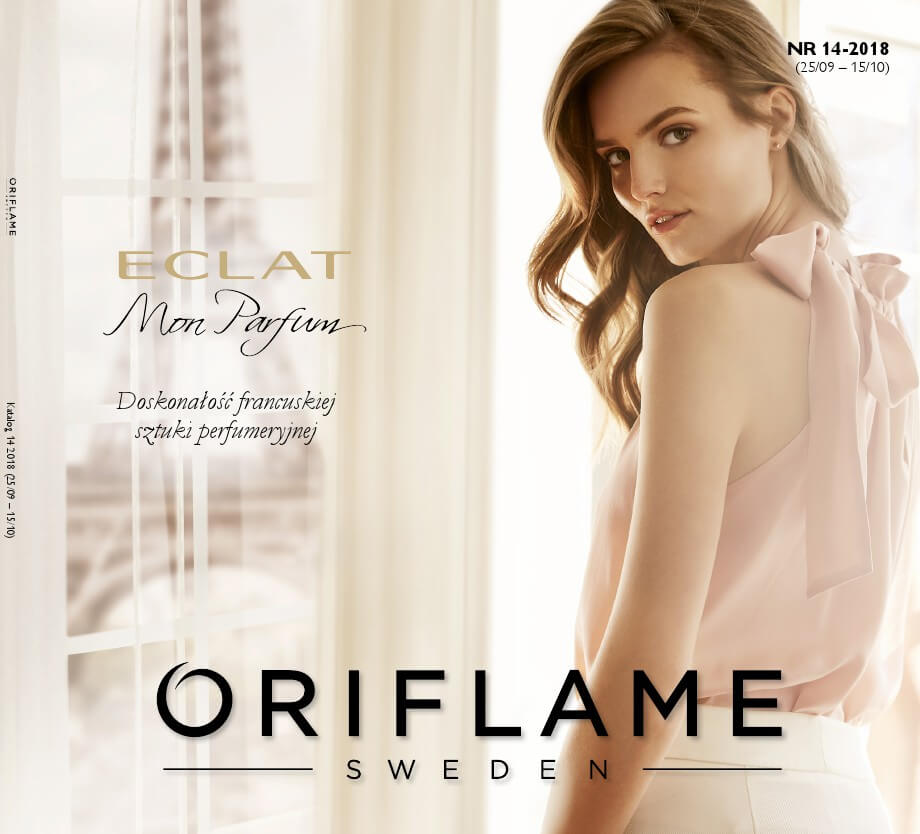 Oriflame, katalog do 15.10.2018