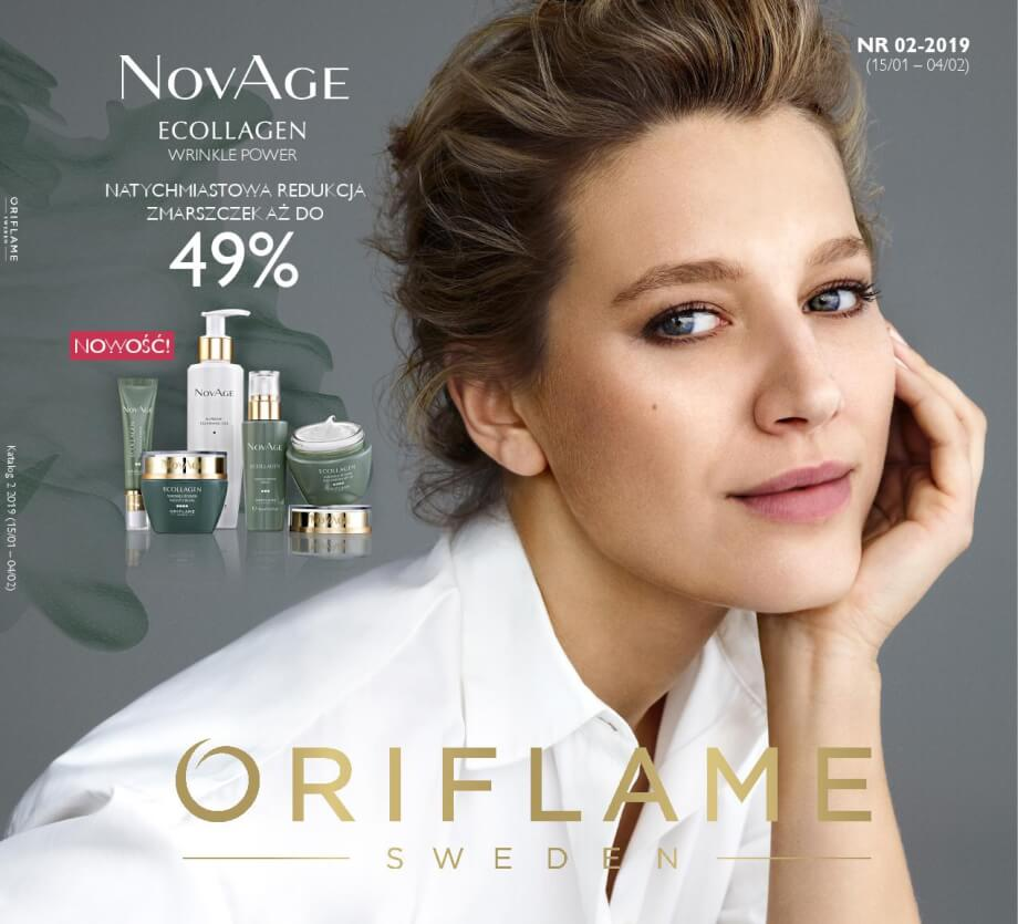 Oriflame, gazetka do 04.02.2019