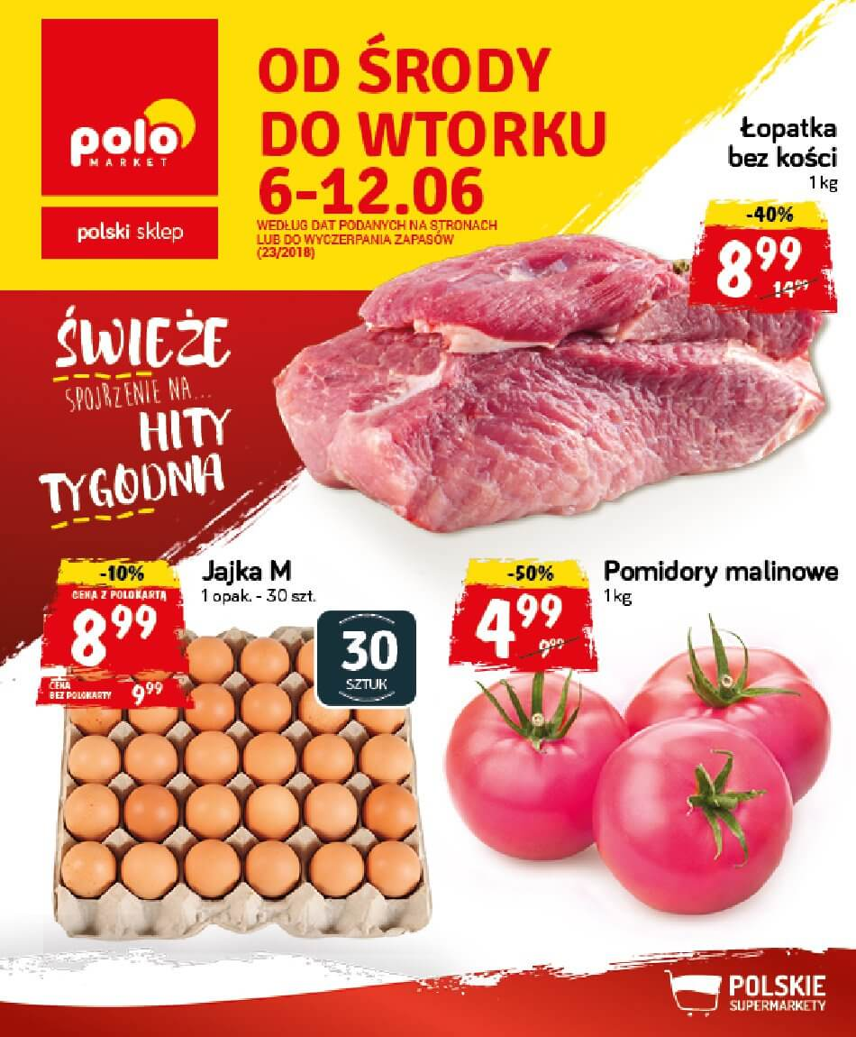 PoloMarket, gazetka do 12.06.2018
