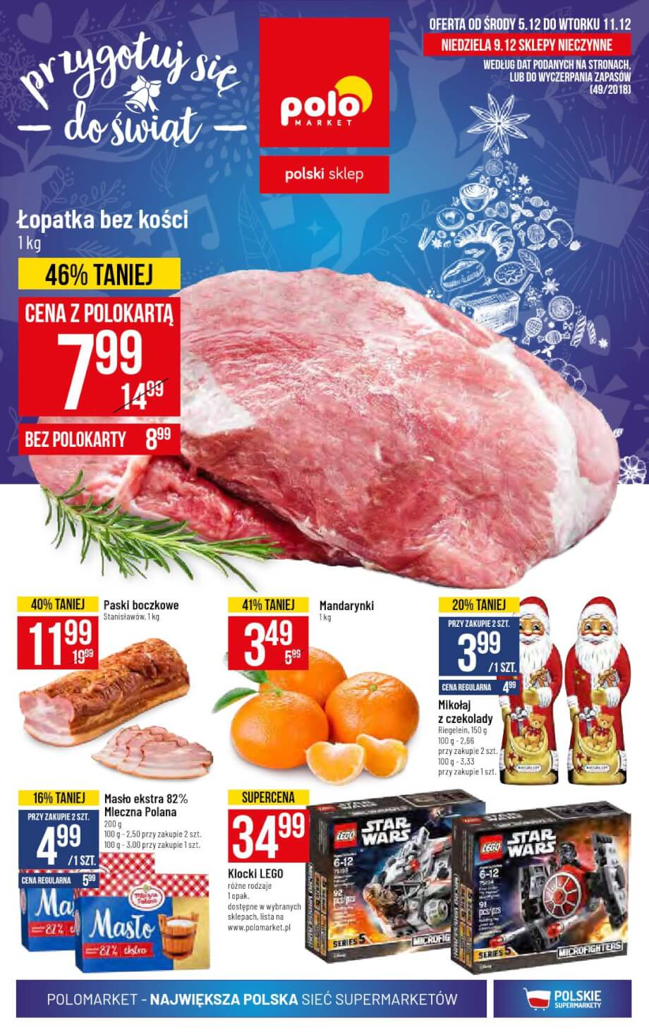 Polomarket, gazetka do 11.12.2018